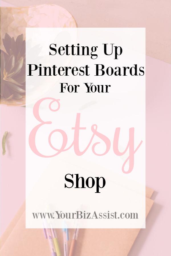 setting up pinterest boards for your etsy shop your biz assist. Black Bedroom Furniture Sets. Home Design Ideas